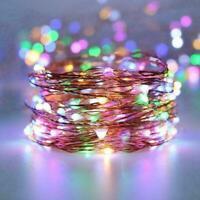 1x Twinkle Sternenhimmel Lichter 10 Stränge 200 LED Wasserfall Strings Vine V9W3