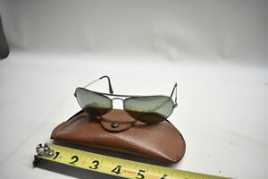Vintage Used Original Ray-Ban Vintage W2613 Sunglasses W/ Leather Case - Aviator
