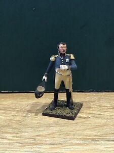 St Petersburg:  A Fine French Field Marshal, c1815. 54mm Solid Metal Figure