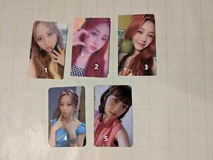 Rocket Punch Choose Photocard Kpop