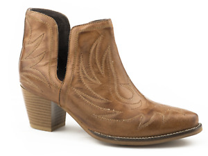 Roper Ladies Rowdy Open Sided Boot - Sizes 7 to 11
