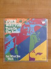 John Wetton: Turn on the Radio/get what you want - Single