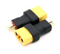 2x Adapterkabel Adapterstecker XT90 Buchse auf Dean Stecker T-Plug Deans Adapter