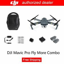 Genuine DJI Mavic Pro Fly More Combo w/ True 4K Stabilized Camera + Active Track