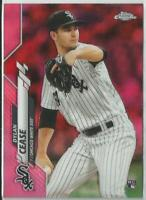 Dylan Cease 2020 Topps Chrome Pink Refractor Rookie Card #43