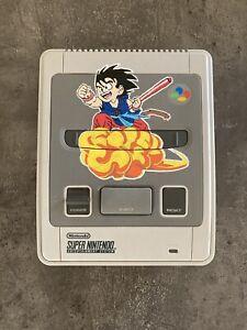 SNES Console Super Nintendo Custom Dragon Ball + 2 Manettes