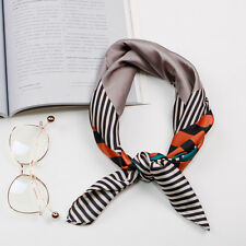 """Women's Fashion Scarf Printed Airline Office Striped Square Kerchief 27""""*27"""""""