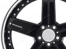 6 X Pegatinas para ruedas Peugeot 308 RCZ 208 508 Boxer Partner 2008 3008
