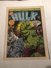 Hulk Comic # 19,1979 Uk -magazine