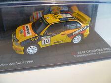 SEAT CORDOBA WRC N° 10 T.GARDEMEISTER : DU RALLYE NEW ZEALAND de 1999 ~  NEUF