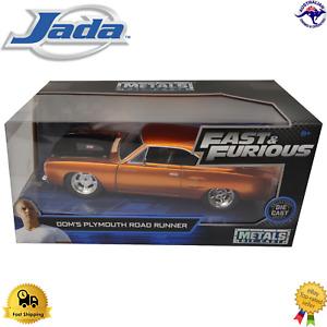 Diecast Model Car 1:24 Dom's Plymouth Road Runner Fast & Furious Jada 97126