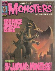 Famous Monsters #114 March 1975 VG 100 page all Japanese Monsters!