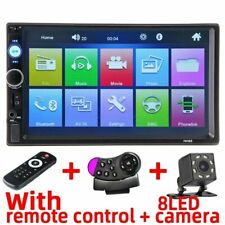"Car Multimedia Player  7"" Touch Screen Video MP5 Player Radios Backup Camera"