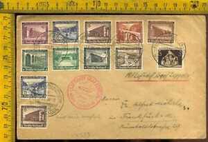 Germania Posta Aerea Primo Volo Zeppelin 1938 lv 573
