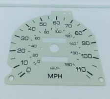 MAZDA BONGO 1995-2006 WHITE SPEEDO FACE KPH TO MPH  FREE DELIVERY