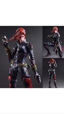 "THE AVENGERS  Black Widow 9.5"" Variant Play Arts Kai Action OFFICIAL Figure"