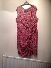 tu size 20 red black ,beige dress REDUCED,