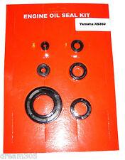 Yamaha XS360 Oil Seal Kit 1976 1977. Good companion for engine gasket set. 360