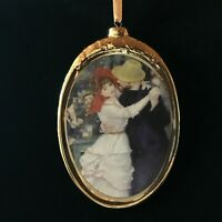 Dance at Bougival by Renoir Porcelain Ornament from Kurt Adler Great Dancer Gift