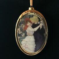 Dance at Bougival by Renoir Porcelain Ornament from Kurt Adler Great Dancer Gift