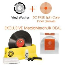 Spin Clean Mk2 Vinyl Record Cleaning Machine Washer System + FREE Inner Sleeves