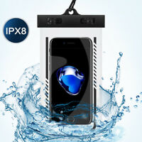 For Cell Phone Luminous Glow Waterproof Bag Underwater Pouch Dry Case Pack Cover