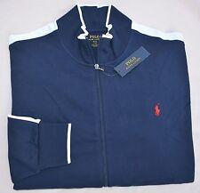 New 5XB 5XL BIG 5X POLO RALPH LAUREN Mens track Jacket Navy blue athletic sports