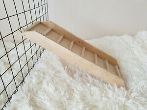 Shelf ramp ladder + sides for rat, hamster, guinea pig, rabbit cage accessories