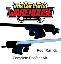 Full Roof Rack Bar Kit SUM520 Mountney WITH RAILS ~ BMW	X3 E83 SUV	03	-	10