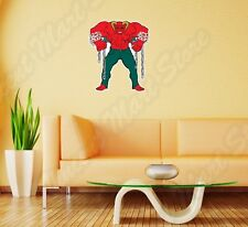 "Red Devil Satan Demon Evil Hell Denim Wall Sticker Room Interior Decor 18""X25"""