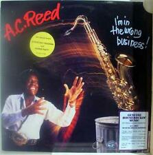 A.C. Reed - I'm In The Wrong Buisness LP Mint- AL 4757 Record w/Promo Press Kit