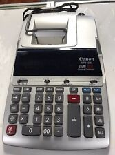 Canon MP11DX 12-Digit Ribbon Printing Calculator Black/Red Print 3.7 Lines/Sec