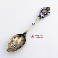 Montreal Souvenir Spoon Notre-Dame Sterling Silver