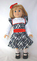 """Doll Clothes 18"""" Victorian Dress For American Girl Nellie Reproduction"""