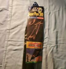 """Vintage New Old Stock, 42"""" Star Wars Super Flyer 300 Series Kite; Never Opened"""