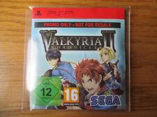 Valkyria Chronicles II/2 PROMO – PSP ~ Neuf Scellé (Full promotional Game) Sega