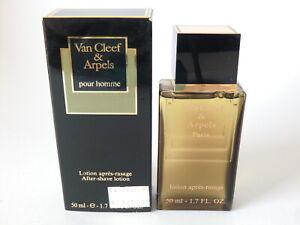 Van Cleef & Arpels Pour Homme AFTER-SHAVE Lotion (NO Vap.) 50ml - 1.7 Oz Boxed
