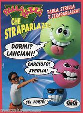 Pubblicità Advertising GIG 1993 PALLA PAZZA