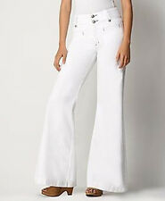 NWT Rich & Skinny Lanky Wide Leg Optic White Jeans 24