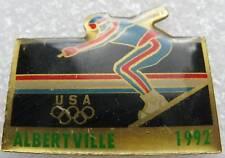 Pin's Albertville 1992 USA Un Skieur #346