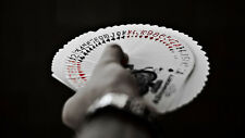 RED TALLY-HO Viper Linoid finish Theory11 CIRCLE FAN Back Deck Playing Cards