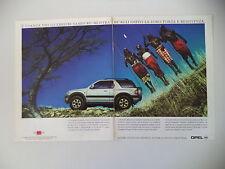 advertising Pubblicità 1998 OPEL FRONTERA