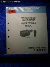 Sony Technical Manual CCD TR400 /TR750 /TR650E /TR750E (#3691)