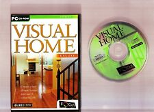 VISUAL HOME DELUXE. GREAT HOME DESIGNER SOFTWARE FOR THE PC!!
