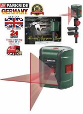 PARKSIDE SELF LEVELLING CROSS LINE LASER,UP TO 7m WORKINGS RANGE
