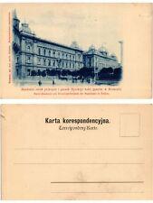 CPA KRAKOW KRAKAU Akademia sztuk pieknych, gmach Dyrekcyi kolei. POLAND (371268)