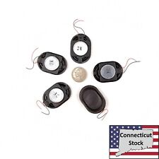 5x 40x28mm Xl Oval Speaker 1W 8ohm Wired Laptop Tablet Repair Parts Usa