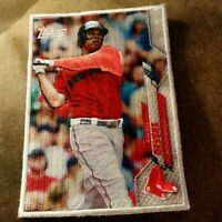 2020 Topps Update Cloth Patch Rafael Devers - Red Sox