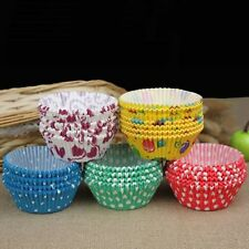 100pcs Muffin Cup Wrapper 100PCS Liners Mini Cake Baking Paper Cupcake