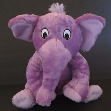 "Kohl's Cares For Kids The Nose Book Plush 11"" Stuffed Animal Purple Elephant #2"